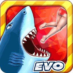 饥饿鲨进化深渊鲨真正破解版 v7.4.0 安卓无限钻石版
