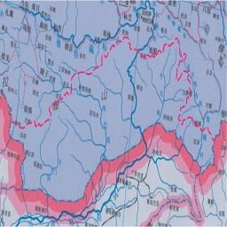 藏南地图全图高清版大图
