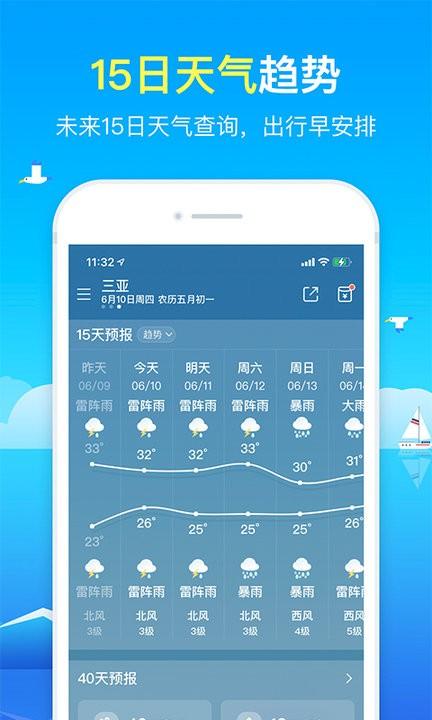 精准天气预报软件下载